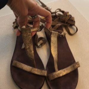 Free people sandals sz 8